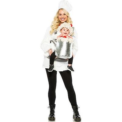 Chef & Spaghetti Baby & Me Costume