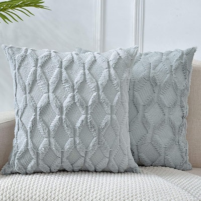LHKIS Boho Throw Pillow Covers (Set of 2)