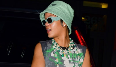Rihanna in Manhattan in July 2021.