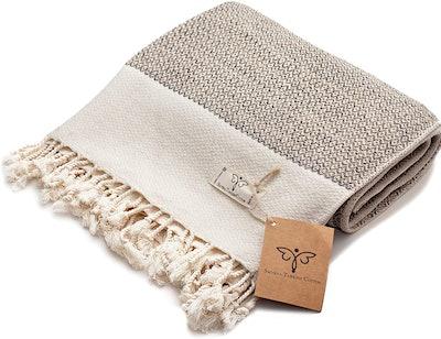 Smyrna Original Turkish Throw Blanket