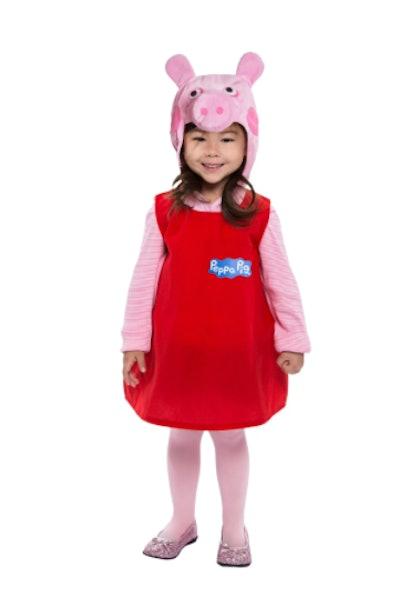 Peppa Pig toddler dress costume