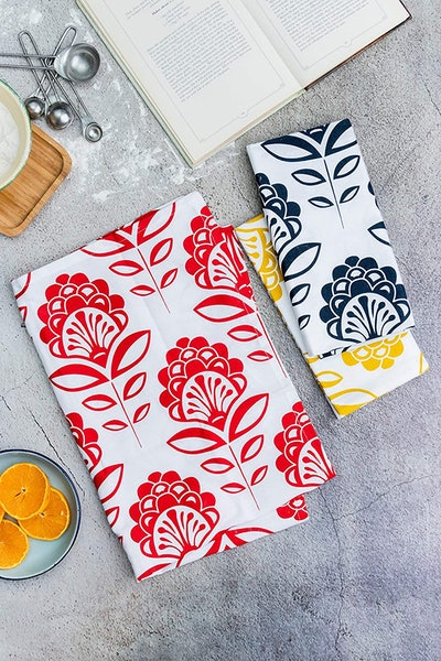 Candy Cottons Kitchen Dish Towels (6-Pack)