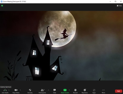 These Halloween Zoom backgrounds will make your calls so spooky.