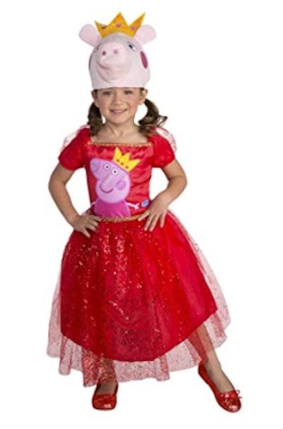 Peppa Pig tutu dress costume for toddlers
