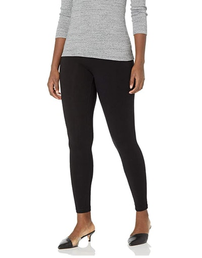 HUE Cotton Legging with Wide Waistband