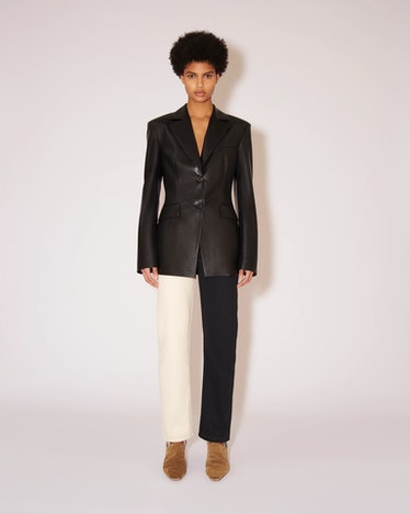Hathi Vegan Leather Blazer