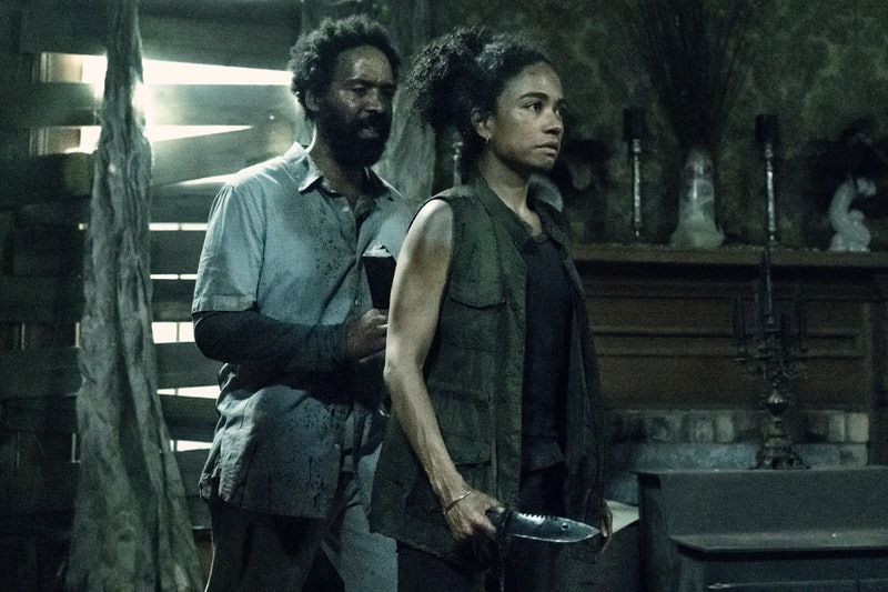 Virgil and Connie returned to 'The Walking Dead.' Photo via AMC