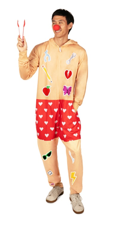 This surgeon game onesie is one funny Halloween costume for men.