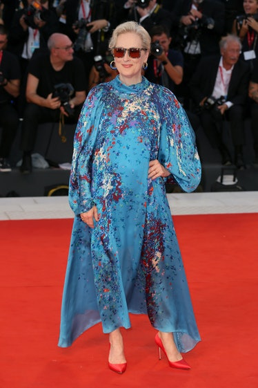 """Meryl Streep walks the red carpet ahead of the """"The Laundromat"""" screening during the 76th Venice Fil..."""