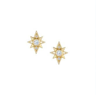 Little Rooms' gold stardust studs.