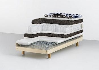 Hästens x Supreme mattress