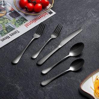 Yumuaua Silverware Flatware Cultery Set (20-Piece)