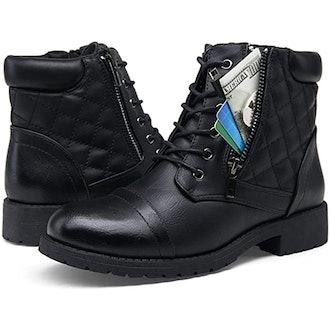 Vepose Fashion Combat Boots