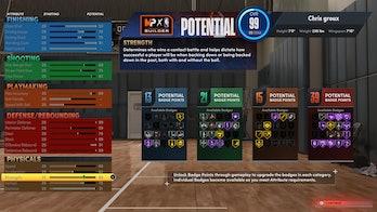 nba 2k22 best center build