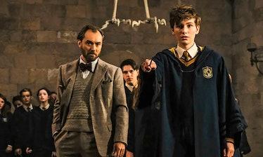 Jude Law as Albus Dumbledore in Fantastic Beasts 2