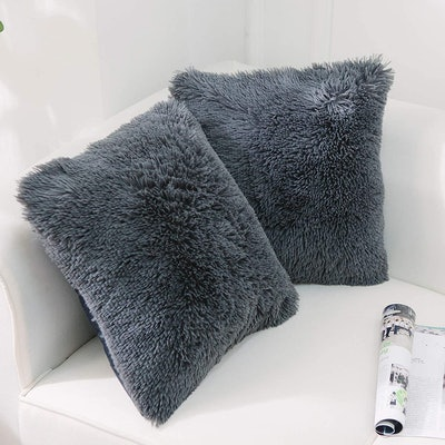 NordECO HOME Luxury Faux Fur Pillow Cover