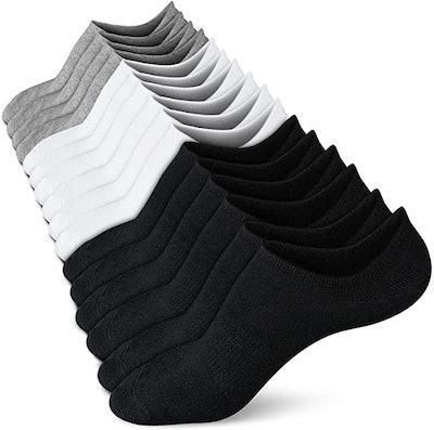 wernies No Show Socks (8 Pairs)