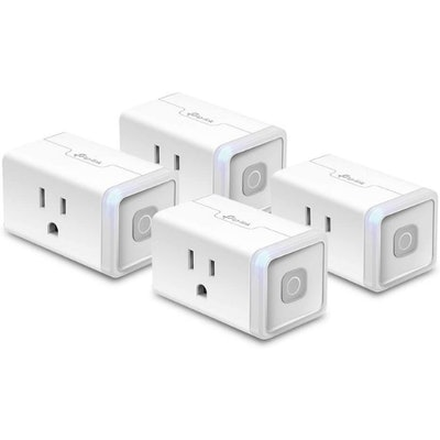 Kasa Smart Home Wi-Fi Outlet (4-Pack)