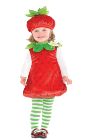 Strawberry Baby Costume for Halloween