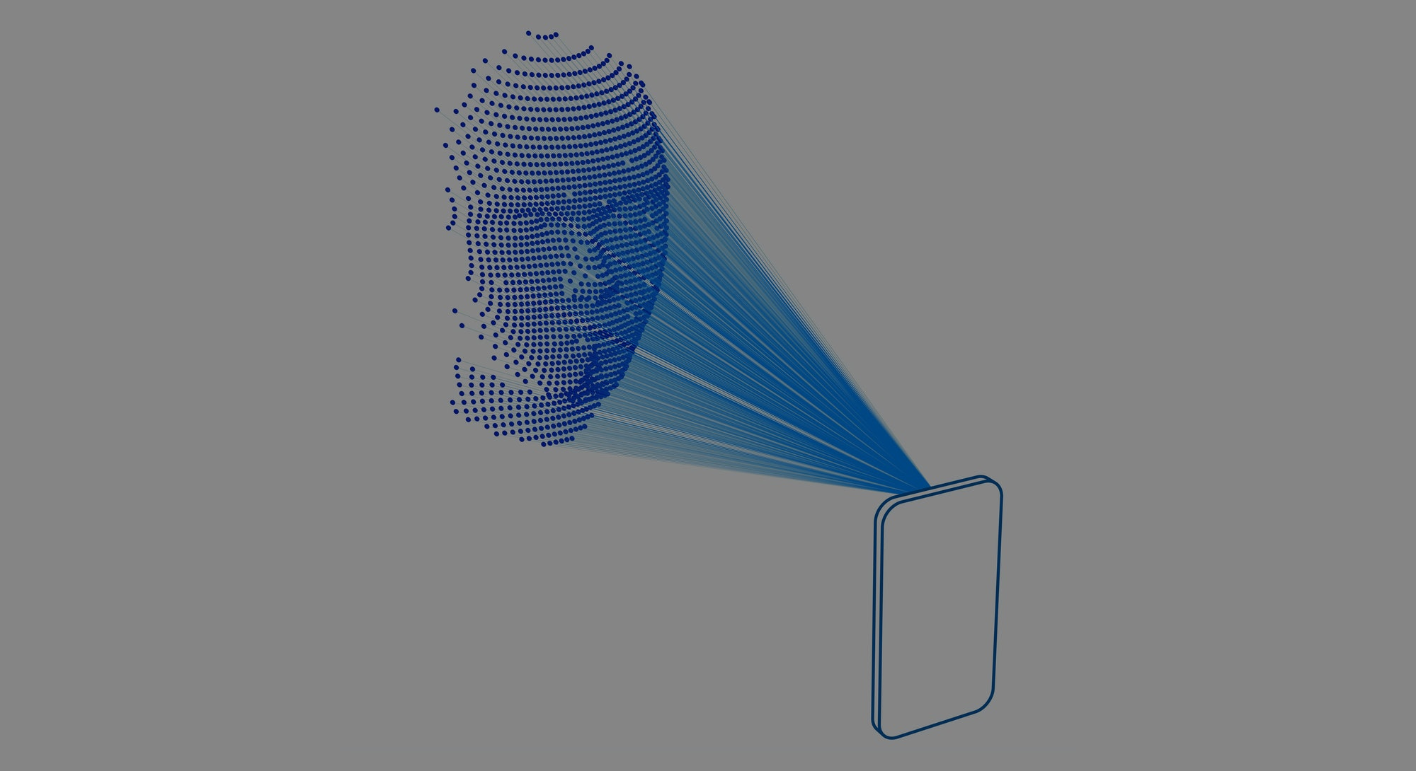 Facial recognition using lasers