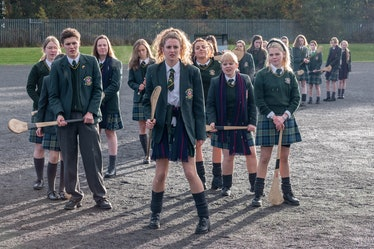 The cast of 'Derry Girls'