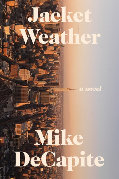 The book cover for Jacket Weather.