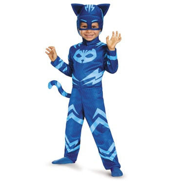 Child wearing a Catboy costume