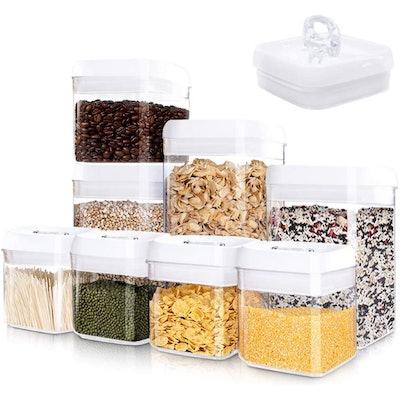 Kitsure Airtight Food Storage Container (Set of 8)