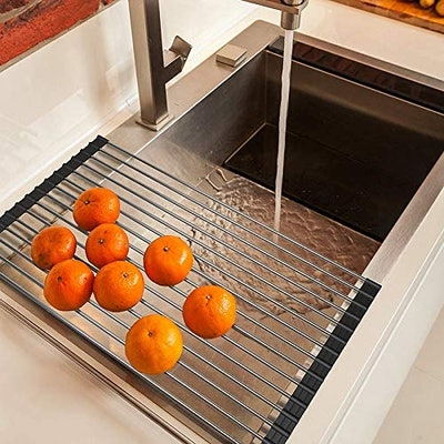 Ahyuan Roll up Over The Sink Dish Drying Rack