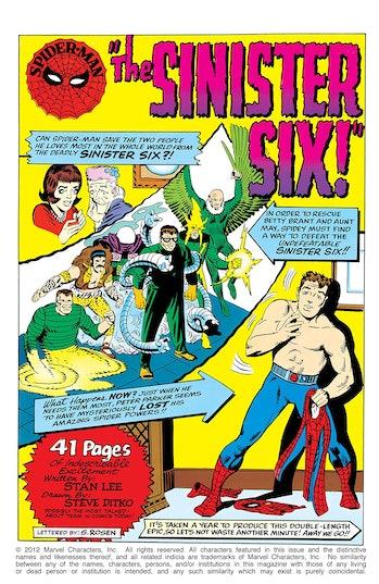 Spider-Man Marvel Sinister Six