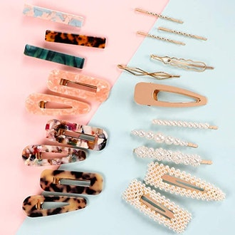 SYEENIFY Fashion Hair Clips Set (20 Pieces)