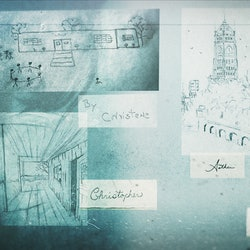 an image showing different drawings done by Billy Milligan, the subject of the Netflix docuseries