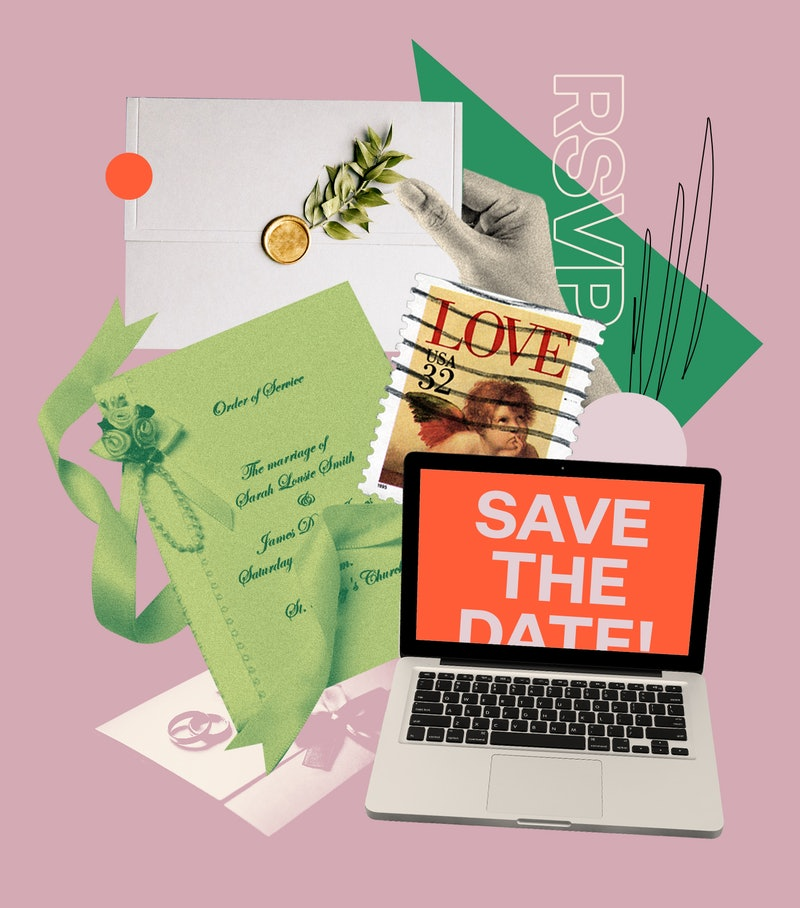 To keep planning your wedding invitations low stress, consider digital invites.