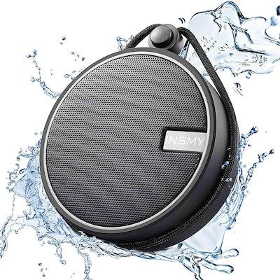 INSMY C12 IPX7 Waterproof Shower Bluetooth Speaker