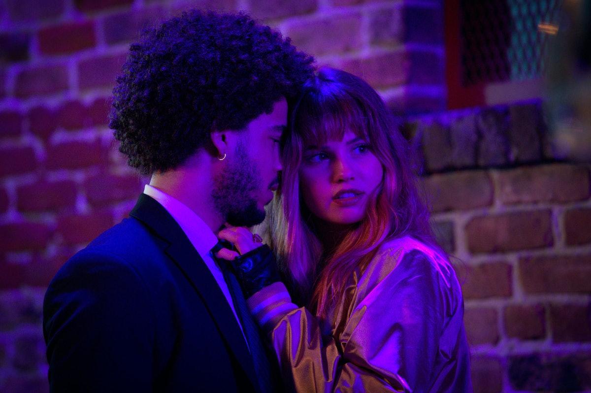 Jorge Lengeborg Jr. as Benny ans Deborah Ryan Papp as Blaire in 'Night Teeth'