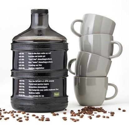 "Panera created the ""Jump Start Jug"" for iced coffee."