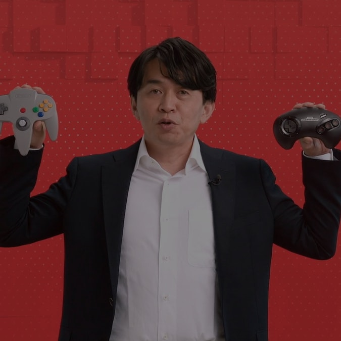 Nintendo 64 and Sega Genesis Controllers