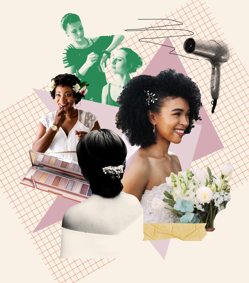 Finding your wedding hair & makeup doesn't have to cost tons of money.