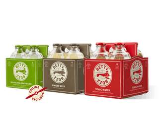 Tonic Water, Ginger Beer, and Sparkling Lemon Lime Variety 12-Pack