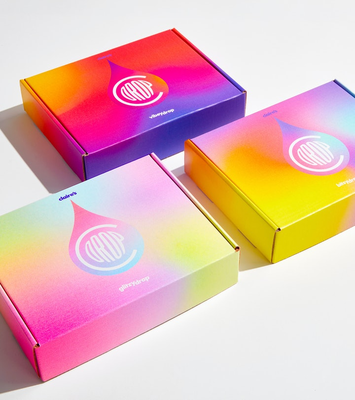 Image of Claire's new trio of subscription boxes.