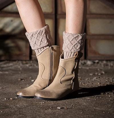 Bestjybt Short Boots Socks