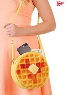 Eggo Waffle Purse