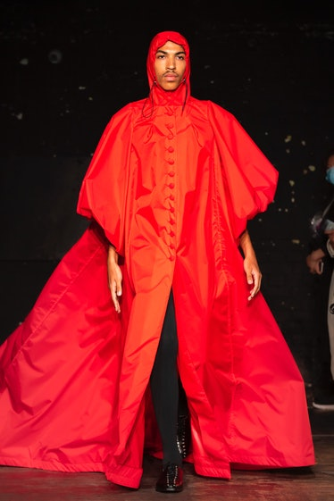 A look from Bradley Sharpe's spring 2022 collection