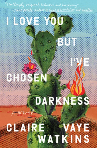 The book cover for I Love But I've chosen darkness.