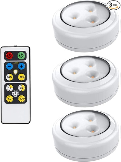 Brilliant Evolution LED Puck Lights (3-Pack)
