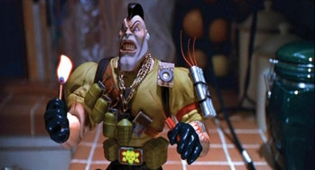 Nick Nitro (voiced by Clint Walker) is one of the Commando characters in Small Soldiers.