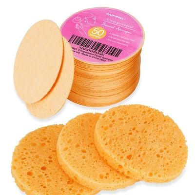 GAINWELL Cellulose Facial Sponges (50- Pack)
