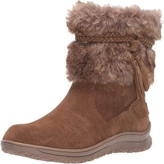 Minnetonka Everett Faux Fur Slip-On Boots