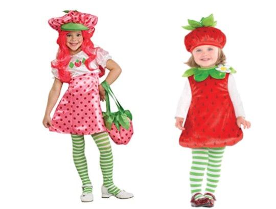strawberry shortcake halloween costumes for kids