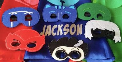 Set of six PJ Mask masks